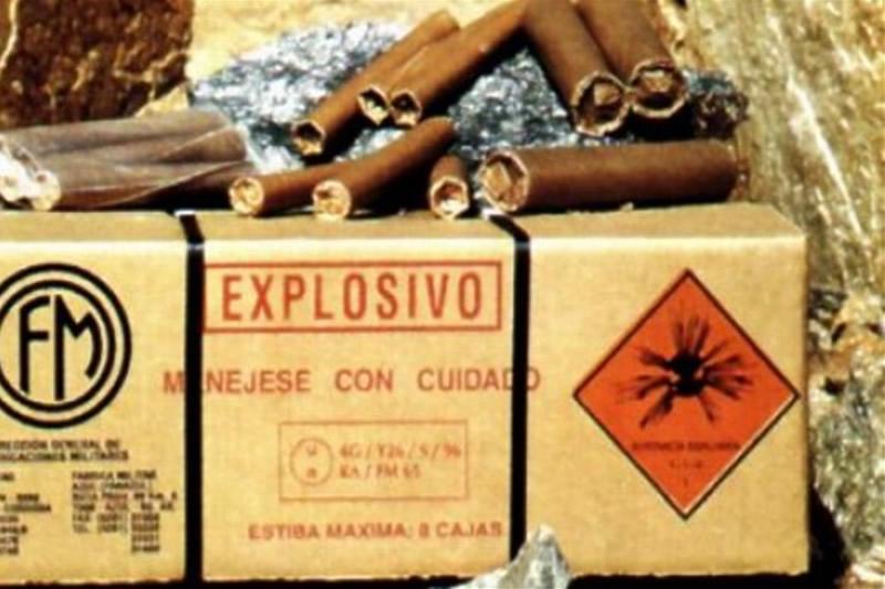 Caja de explosivos